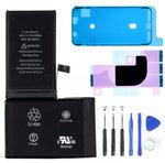 Batterij iPhone X complet set framesticker