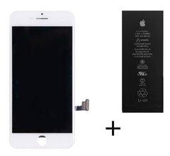Accu + LCD wit iPhone 7 origineel set (met gratis gereedschap)