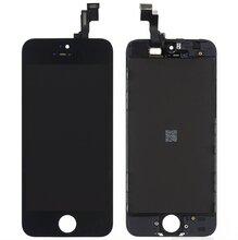 LCD scherm zwart iPhone 5s origineel   glas zwart (met gratis gereedschap)
