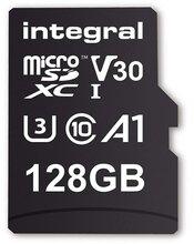 128GB microSDXC card, V30, 100MB/sR / 70MB/sW