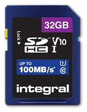 32GB microSDHC card, V10, up to 100MB/s