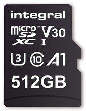 512GB microSDXC card, V30, 100MB/sR / 80MB/sW