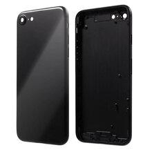Achterkant - Glossy Black, voor model iPhone 7 (excl. Logo)