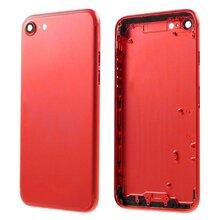 Achterkant - Rood, voor model iPhone 7 (excl. Logo)