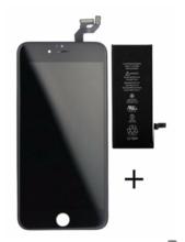 iPhone 6 batterij + LCD zwart origineel set (met gratis gereedschap)