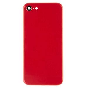 Achterkant - Rood, voor model iPhone iPhone 8 (excl. Logo)