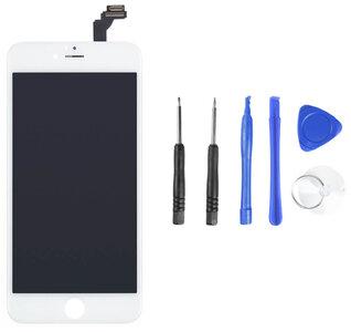 Lcd scherm wit iPhone 6 Plus origineel complete set